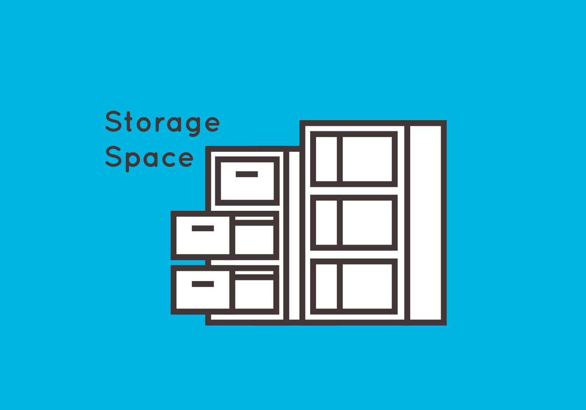 Storage Space Icon
