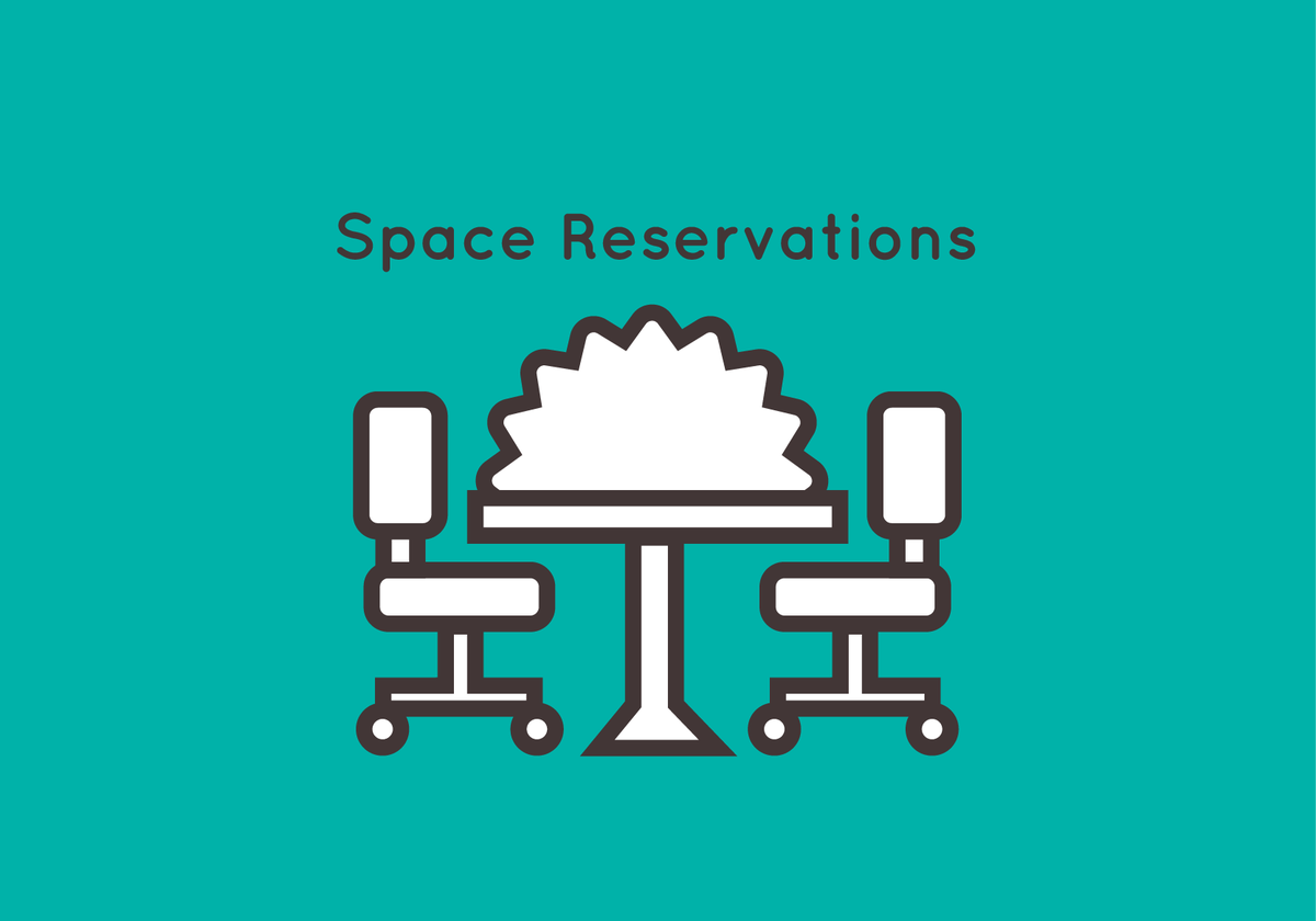 Space Reservation Icon
